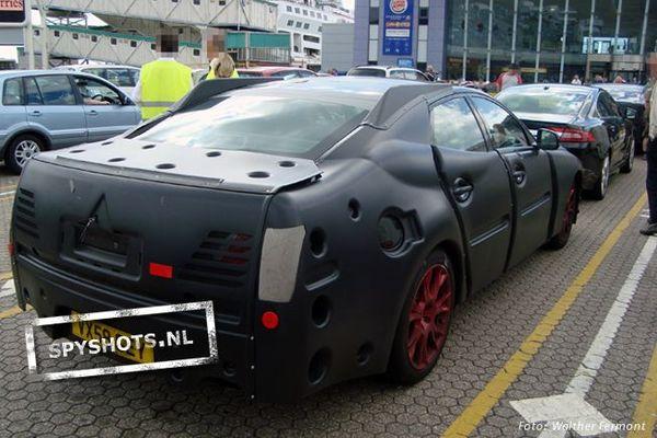 [vidéo] La future Jaguar XJ toujours plus effrayante