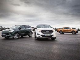 Ford veut doubler ses ventes de quatre roues motrices en Europe en 2016