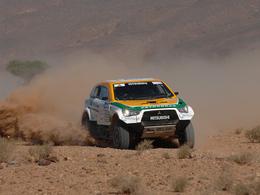 Dakar 2013 - Un Mitsubishi à moteur Aston Martin dans la course!