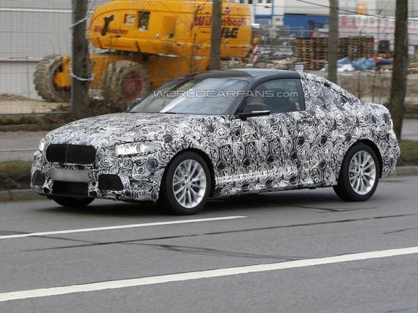 La BMW Série 2 surprise avec son camouflage