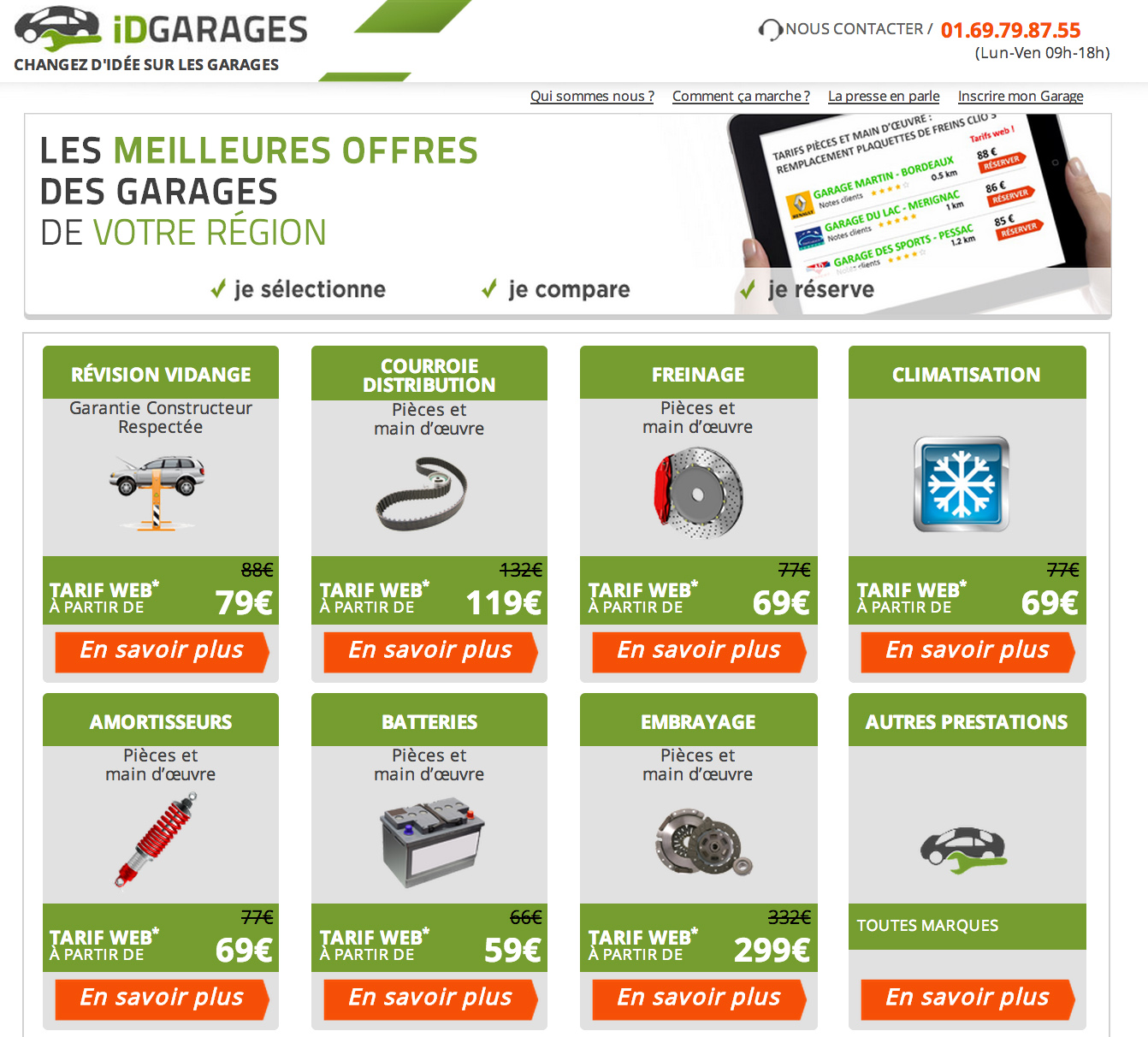 idgarages le premier comparateur de garages