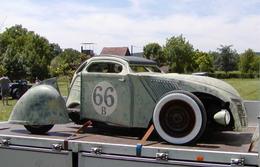 2 CV Citroën Hot Rod : Spatial Deuch'