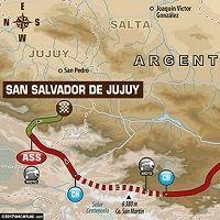 Dakar 2017 - étape 3 : le parcours du jour