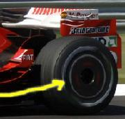 Formule 1 GP de Turquie: Les roues lenticulaires de Ferrari
