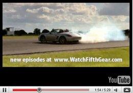 Vidéo Fifth Gear : Porsche Boxster (Tiff) vs BMW Z4 (Jason), fumeurs nés