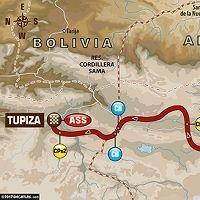 Dakar 2017 - étape 4 : le parcours du jour