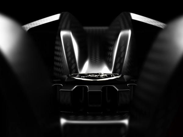 Mondial 2010 : Lamborghini Concept acte 4, toujours du carbone