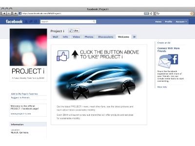 BMW i Project à découvrir sur internet