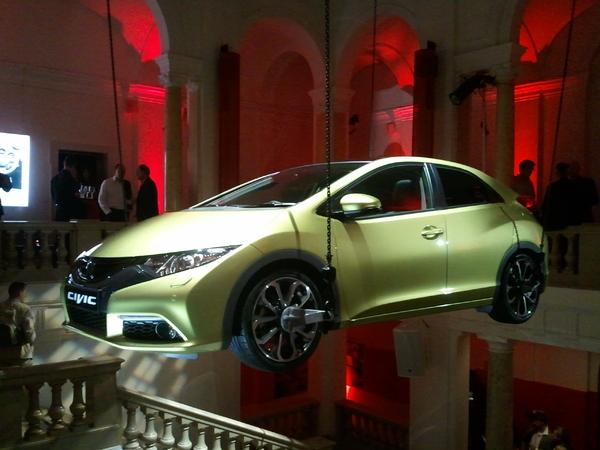 En direct du salon de Francfort : la nouvelle Honda Civic se dévoile en vidéo