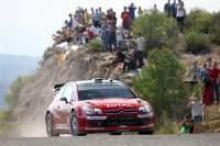 Tests C4 WRC : Loeb a dépoussiéré les routes ardéchoises