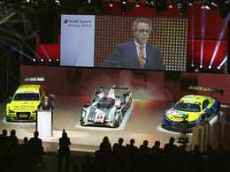 WEC 2013 - Audi annonce ses pilotes et son programme