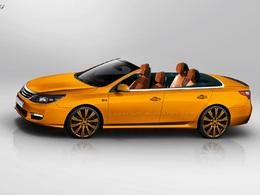 Drôle d'idée : une Renault Latitude décapotable