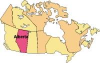 L'Alberta : vélos et voitures se côtoient dangereusement sur l'autoroute