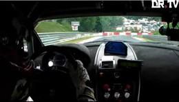 [vidéo] Embarquez dans l'Aston Martin V12 Vantage pendant les 24 Heures du Nürburgring
