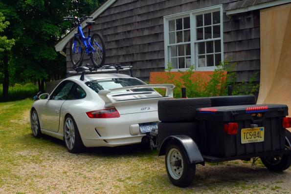 Porsche GT3 avec galerie