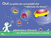 Pôle régional Alsace-Franche Comté : la voiture propre du futur se prépare