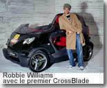 Smart Crossblade : à Robbie la première