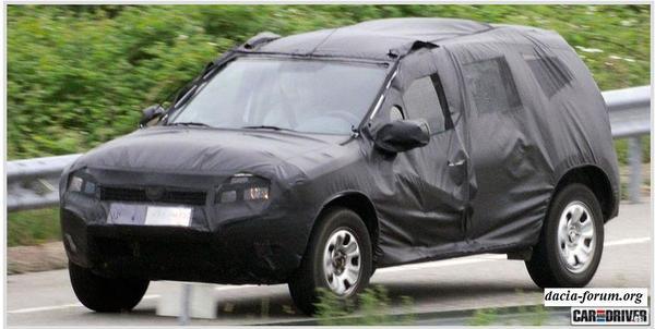 Spyshot : le futur SUV Dacia
