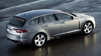 Jaguar XF: t'as le look break