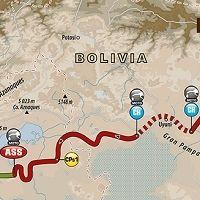 Dakar 2017 - étape 5 : le parcours du jour