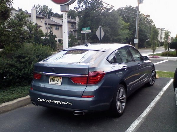 La BMW Serie 5 GT déjà dans la circulation