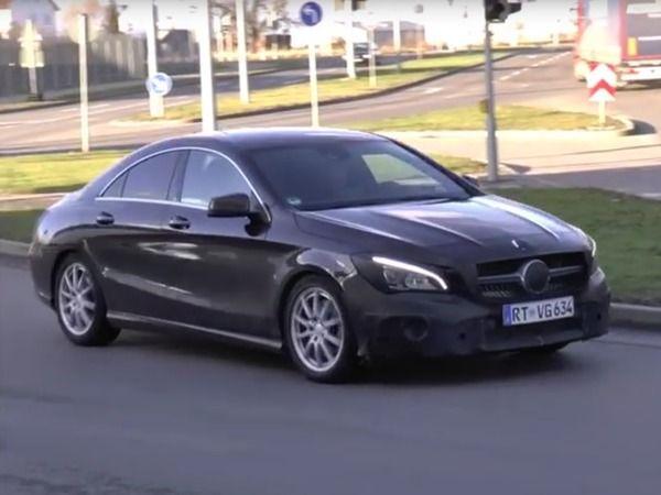 Scoop : le restylage de la Mercedes CLA se promène