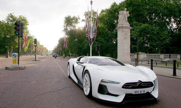 La Citroën GT Concept en promenade à Londres
