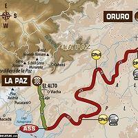 Dakar 2017 - étape 6 : le parcours du jour
