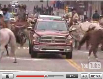 Détroit 2008 : Dodge Ram 2008, un éléphant parmi les vaches