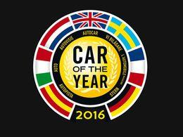 Voici les sept finalistes de la voiture européenne de l'année 2016