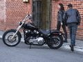 Harley-Davidson Softail Standard : tout de noir vêtu