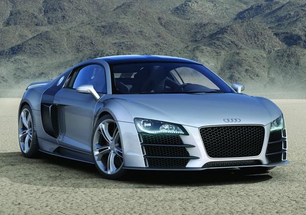 Détroit 2008 : Audi R8 V12 TDI, toutes les photos HD