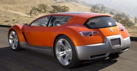 Détroit 2008 : Dodge Zeo Concept, l'orange électrique