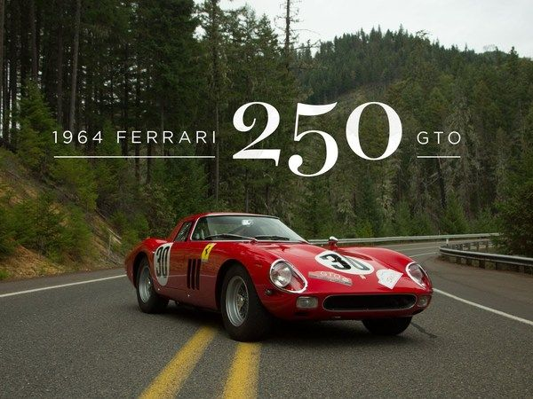 Embarquez pour un tour à bord d'une Ferrari 250 GTO
