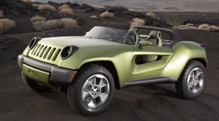 Détroit 2008 : Jeep Renegade Concept, light frog diesel !