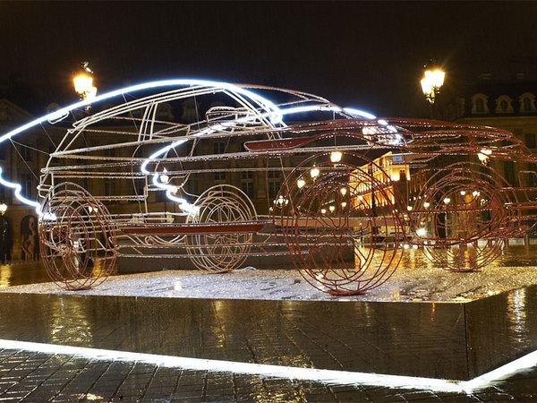 Mondial de Paris 2010 : Range Rover Evoque, de l'art dans la capitale