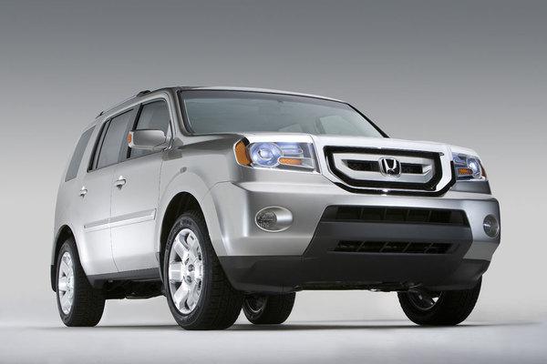 Détroit 2008 : Honda Pilot Concept: cherchez le lien !
