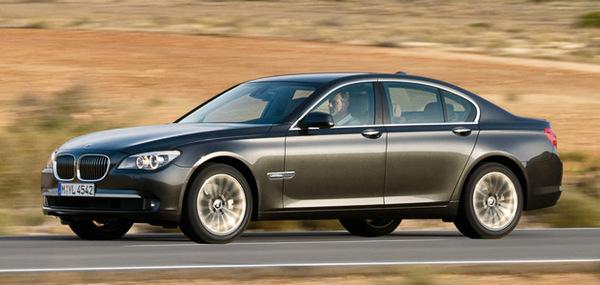 La BMW Serie 7 passe aux quatre roues motrices