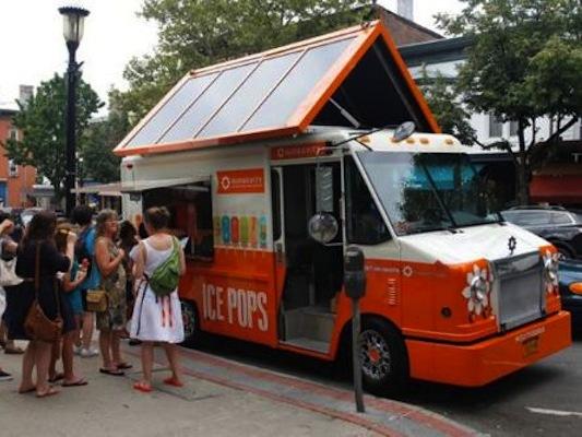 Préférence Un camion de glace solaire fait la promotion des énergies  YH77