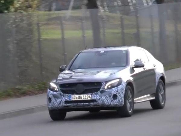 Surprise : le Mercedes GLC Coupé en balade