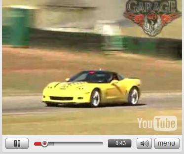 Vidéo Détroit 2008 : Corvette ZR-1 : présentation et action !