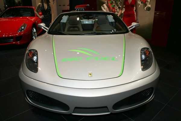 Détroit 2008 : Ferrari F430 Bio Fuel Concept, la Ferrari verte !