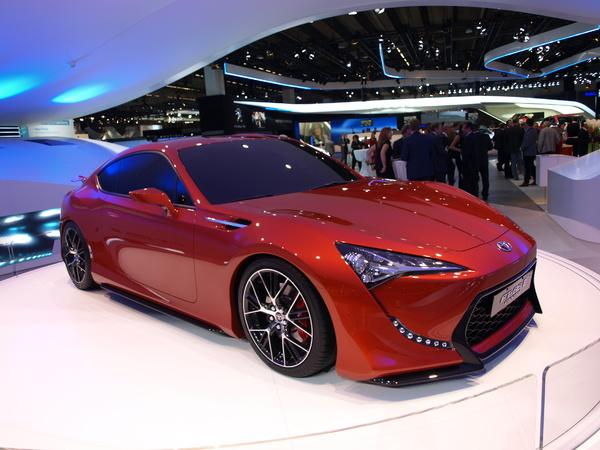 Vidéo - Francfort 2011 : Toyota FT 86 II concept