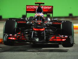 F1 - On est passé à deux doigts d'une McLaren arrivant sans aileron à Singapour
