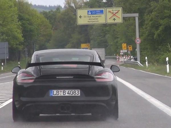 Est-ce là le futur Porsche Cayman GT4 ?