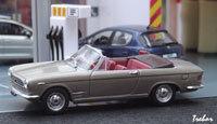 Miniature : 1/43ème - FIAT 2300S cabriolet