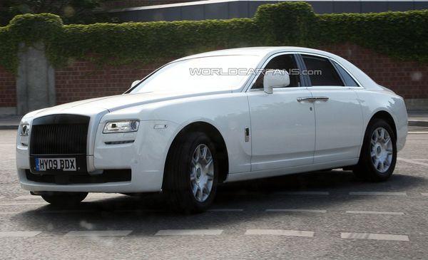 Rolls-Royce Ghost : cette fois, elle est blanche