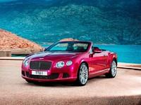 Voici la Continental GT Speed cabriolet