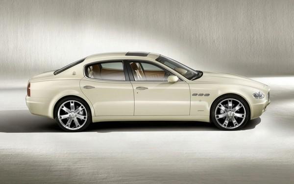 Détroit 2008 : Maserati Quattroporte Collezione Cento, l'hypraluxe limité