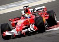 Bridgestone et Ferrari domine la prémière journée à Monza